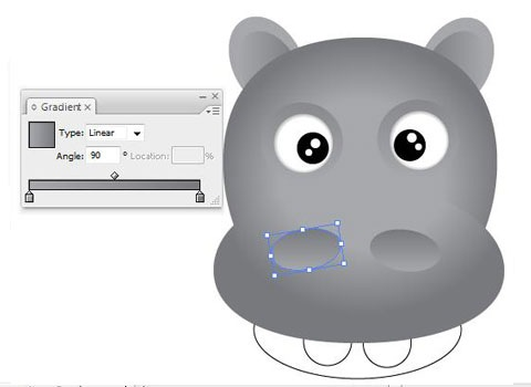 thehippoface How To Create Face Of A Hippo Using Illustrator