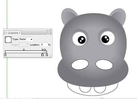 wateyesshouldlooklike How To Create Face Of A Hippo Using Illustrator
