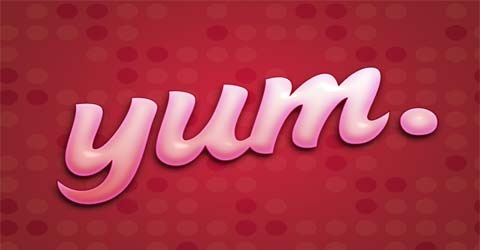 yum 70 Photoshop Tutorials For Creating Perfect Typography