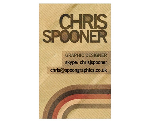 CHRISsponnerbuinesscardtut 30 Design Tutorials For Creating Professional Business Cards