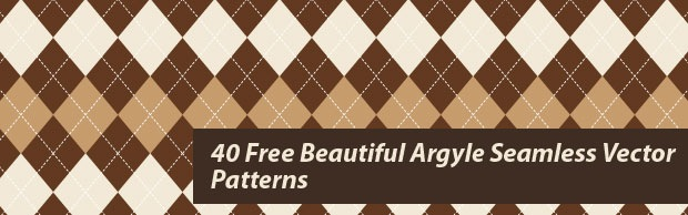 beautifulpatterns Beautiful Argyle Seamless Vector Patterns
