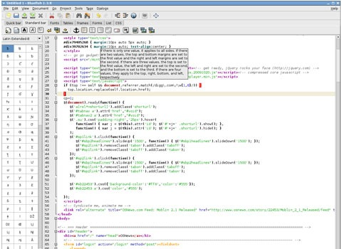 bluefish 25 Free Portable Programs For Designers and Web Developers