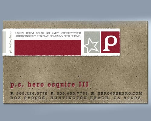 cardboard 30 Design Tutorials For Creating Professional Business Cards