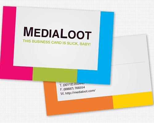 colorfulbusinesscard 30 Design Tutorials For Creating Professional Business Cards