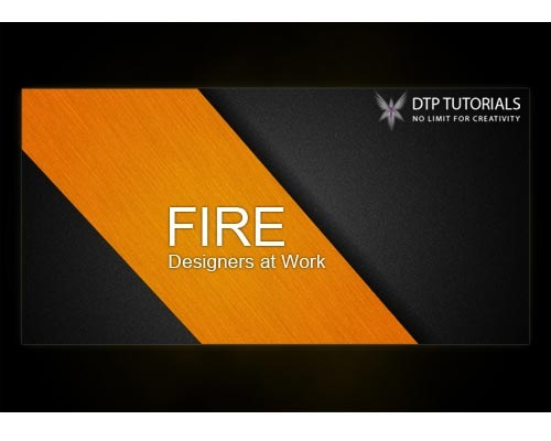 fire 30 Design Tutorials For Creating Professional Business Cards