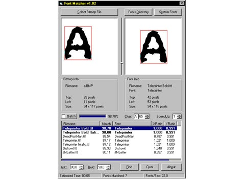 fontmatcher 25 Free Portable Programs For Designers and Web Developers