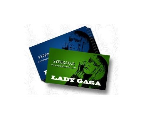 ladygaga 30 Design Tutorials For Creating Professional Business Cards