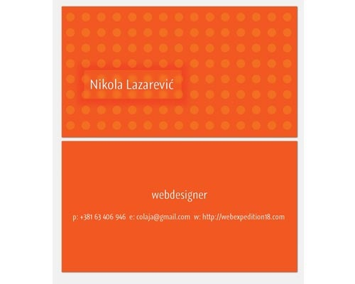 nikola 30 Design Tutorials For Creating Professional Business Cards