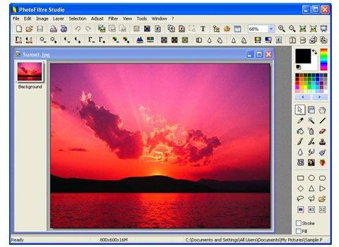photofilter 25 Free Portable Programs For Designers and Web Developers ওয়েব ডিজাইন এর ২৫ টি সফটওয়্যার