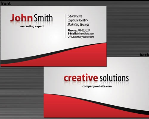 sixrevisionbusinesscard 30 Design Tutorials For Creating Professional Business Cards