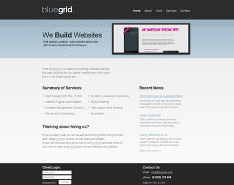 blue0grid 80 Fresh Photoshop Tutorials For Creating Awesome Websites