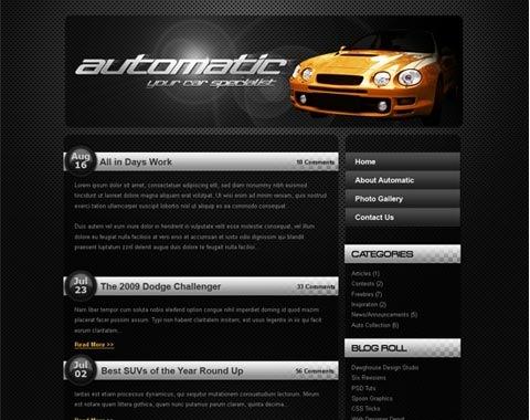 dark-sleek-website