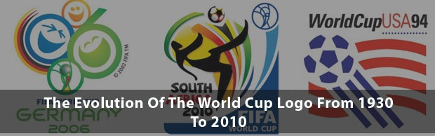 evolutionworldcup The Evolution Of The World Cup Logo From 1930 To 2010