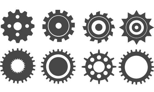 gearicons How To Create Gear Icons Using Illustrator