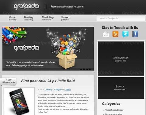 graphidia-click-theme-design