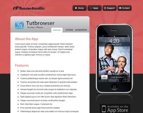 iphonelastic 80 Fresh Photoshop Tutorials For Creating Awesome Websites