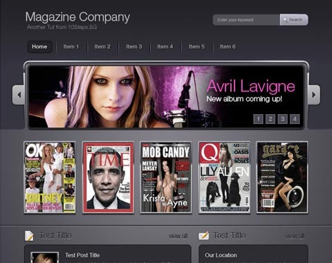 magazinecompany 80 Fresh Photoshop Tutorials For Creating Awesome Websites