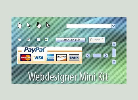 minikit Essential Free Photoshop GUI Elements For Designers