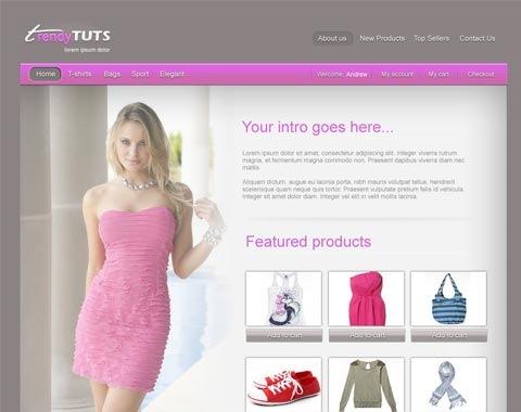 trendy-ecommerce
