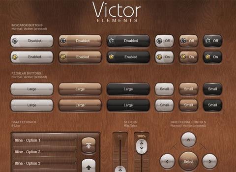 vintageelements Essential Free Photoshop GUI Elements For Designers