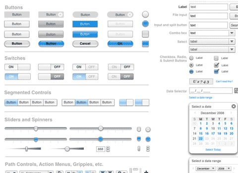 wireframestencils Essential Free Photoshop GUI Elements For Designers