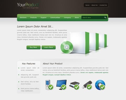 yourproduct 80 Fresh Photoshop Tutorials For Creating Awesome Websites