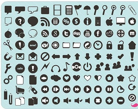 120newicons 99 Icon Sets To Use In Commercial Design Projects