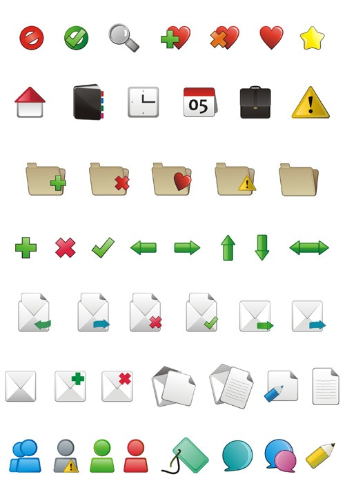 applarge Simple But Sophisticated App Icon Set