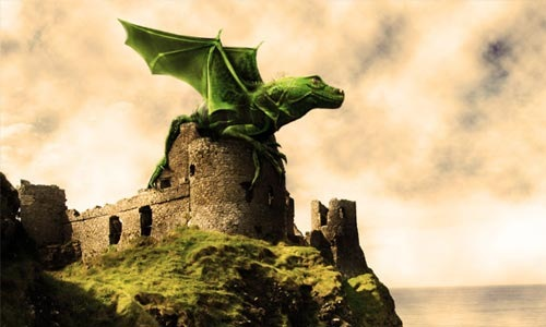 dragon 100 Photoshop Tutorials For Learning Photo Manipulation