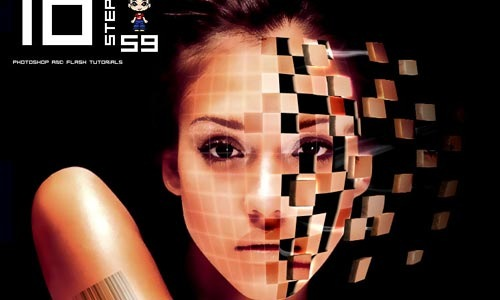 facecubes 100 Photoshop Tutorials For Learning Photo Manipulation