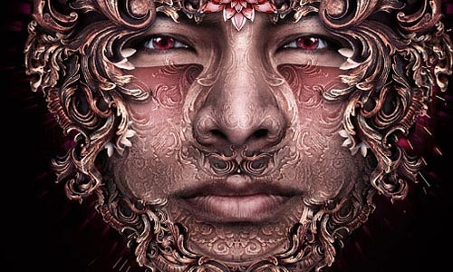 faceornament 100 Photoshop Tutorials For Learning Photo Manipulation