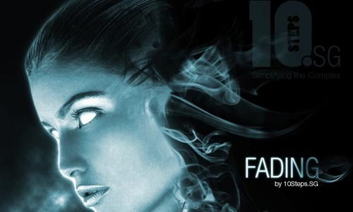 fading 100 Photoshop Tutorials For Learning Photo Manipulation