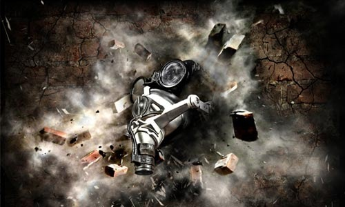 gasmask 100 Photoshop Tutorials For Learning Photo Manipulation