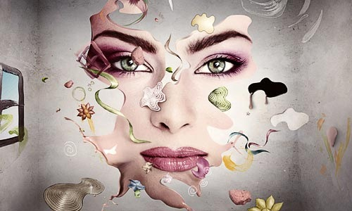handdrawnmanip 100 Photoshop Tutorials For Learning Photo Manipulation