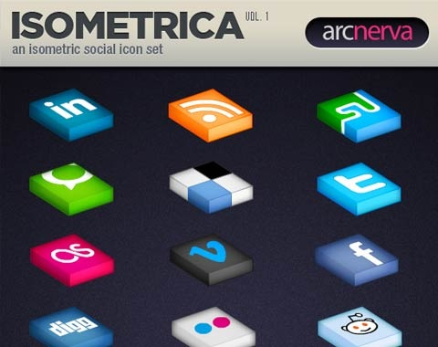 isometric 99 Icon Sets To Use In Commercial Design Projects