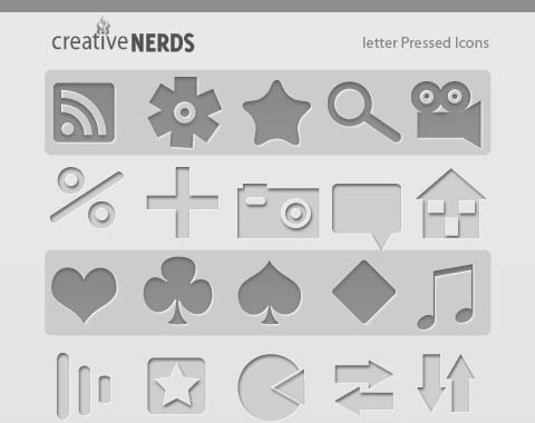 letterpressedicons 99 Icon Sets To Use In Commercial Design Projects