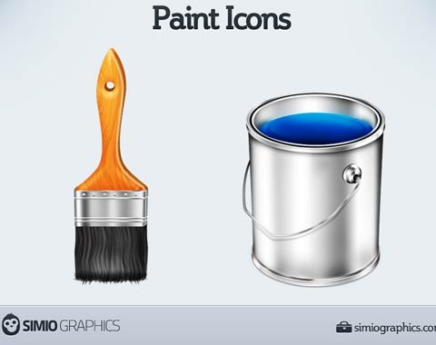 painticonset 99 Icon Sets To Use In Commercial Design Projects