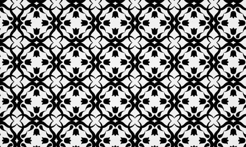 pattern2 Simply But Elegant Floral Photoshop Pattern Set