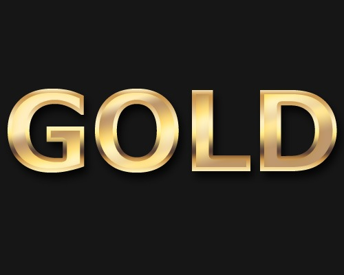 previegoldeffect Create A Slick Gold Text Effect Using Photoshop