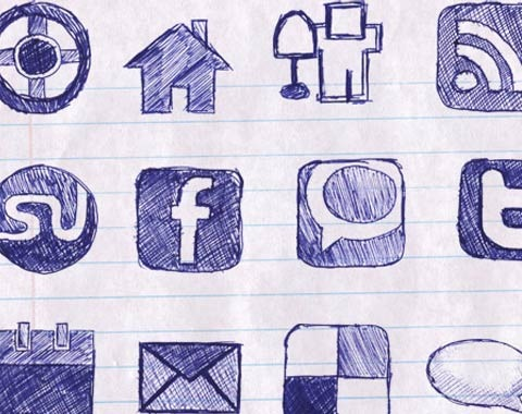sketchedpaper 99 Icon Sets To Use In Commercial Design Projects