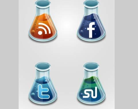 social-media-beakers