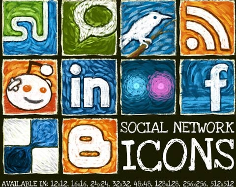 socialnetoworkicons 99 Icon Sets To Use In Commercial Design Projects