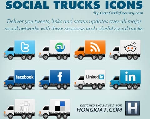 socialtruckicons 99 Icon Sets To Use In Commercial Design Projects