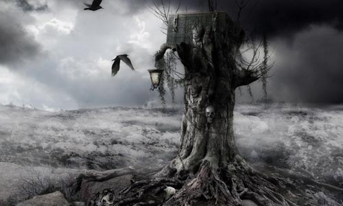 treemanipulation 100 Photoshop Tutorials For Learning Photo Manipulation