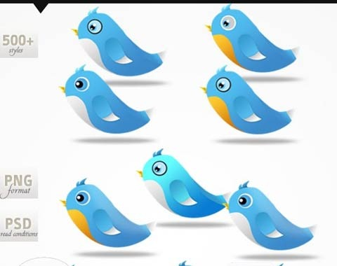 twitterbird 99 Icon Sets To Use In Commercial Design Projects