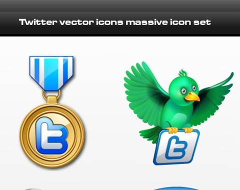 twittervectoricons 99 Icon Sets To Use In Commercial Design Projects