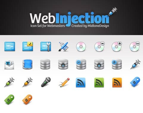webinjection 99 Icon Sets To Use In Commercial Design Projects