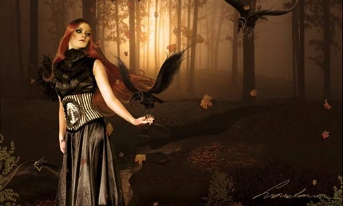 womenforest 100 Photoshop Tutorials For Learning Photo Manipulation