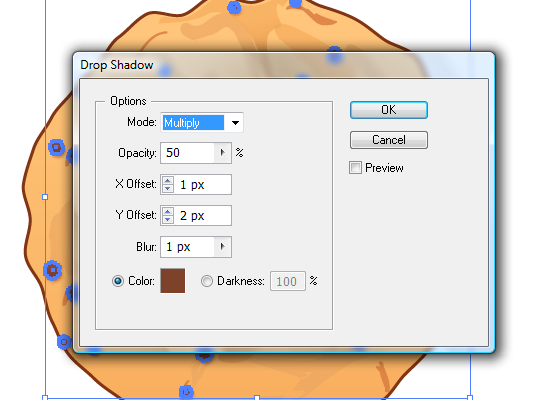 cookie 21 How to Create a Delicious Chocolate Chip Cookie In Illustrator