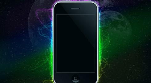 iphonelighting 70 Tutorials For Learning And Mastering Light Effects In Photoshop